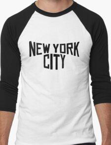 New York - Big Apple Men's Baseball ¾ T-Shirt