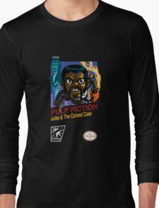 Pulp Fiction: 8 Bit Style Long Sleeve T-Shirt