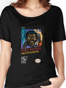 Pulp Fiction: 8 Bit Style Women's Relaxed Fit T-Shirt