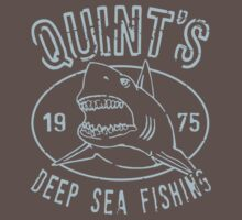 Quints Deep Sea Fishing Distressed by 8balltshirts