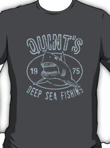 Quints Deep Sea Fishing Distressed T-Shirt