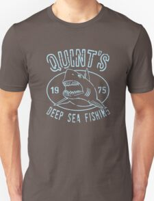 Quints Deep Sea Fishing Distressed Unisex T-Shirt