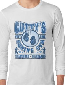 Cuttys Gym Distressed Long Sleeve T-Shirt