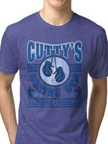Cuttys Gym Distressed Tri-blend T-Shirt