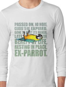 Ex Parrot Distressed Long Sleeve T-Shirt