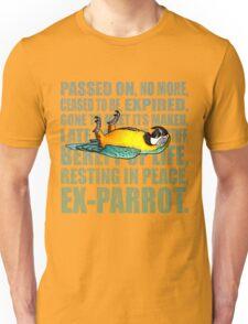 Ex Parrot Distressed Unisex T-Shirt
