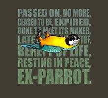Ex Parrot Distressed Unisex T-Shirt
