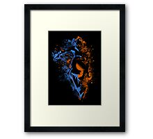 Bending Legeng Framed Print