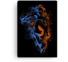Bending Legeng Canvas Print