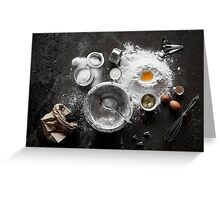 A Cupcake Deconstructed - A Baker's Delight! Greeting Card