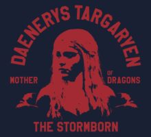 Game of Thrones Daenerys Targaryen Red by nofixedaddress