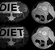 Die? Diet? by lewigie
