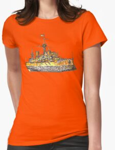 Toy Boat Womens Fitted T-Shirt