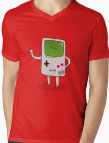 Cute Gameboy T-shirt Mens V-Neck T-Shirt