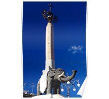 Catania Famous Elephant Poster