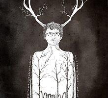 Hannibal fan art  by koroa