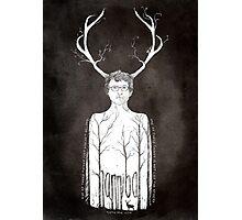 Hannibal fan art  Photographic Print