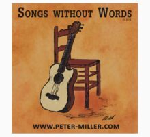 Guitar and Chair Album Cover by Peter Miller Kids Clothes