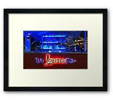 Baja Lobster Company Framed Print