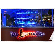 Baja Lobster Company Poster