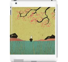 Our sinked future connected by ports iPad Case/Skin