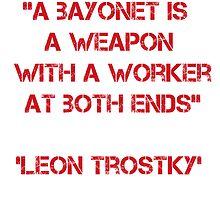 Leon Trostky peace quote by reichstagspy123