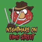 Nightmare on elmo street. Horror. by Faramiro
