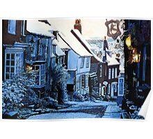 Slip Down Mermaid Street, Rye Poster