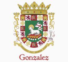Gonzalez Shield of Puerto Rico by William Martin
