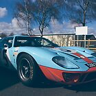 Ford GT40 - Gulf by Lynchie