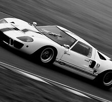Ford GT40  by Lynchie