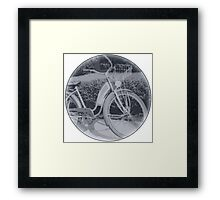 Vintage Bicycle Framed Print