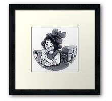 Play Dolls Framed Print