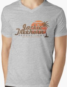 Jackie Treehorn Productions Mens V-Neck T-Shirt