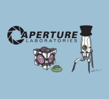 Portal Aperture Science Fancy Logo by ----User