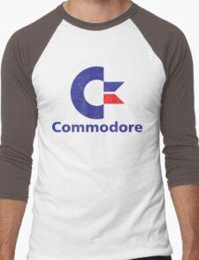 Commodore Logo Men's Baseball ¾ T-Shirt