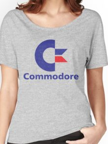 Commodore Logo Women's Relaxed Fit T-Shirt