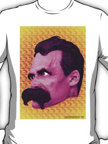 Nietzsche Multi-Heads 1 - by Rev. Shakes  T-Shirt