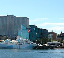 View from Halifax Harbour, Halifax Waterfront by tbrady12