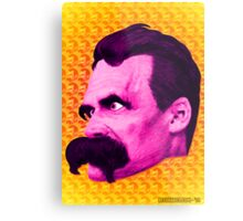 Nietzsche Multi-Heads 1 - by Rev. Shakes  Metal Print