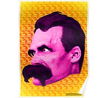 Nietzsche Multi-Heads 1 - by Rev. Shakes  Poster