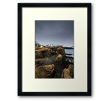 house & trolls Framed Print