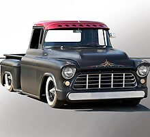 1956 Chevy Lowrider Pick-Up by DaveKoontz