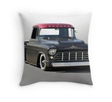 1956 Chevy Lowrider Pick-Up Throw Pillow