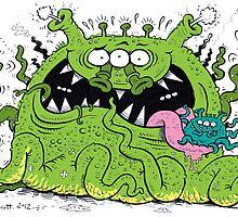 Goofy Alien by stickypencil
