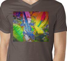 Blue lizard Mens V-Neck T-Shirt