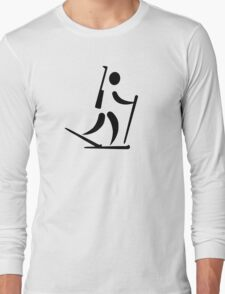 Biathlon icon Long Sleeve T-Shirt