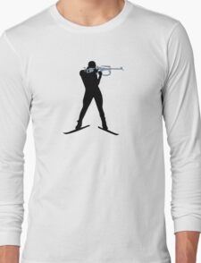 Biathlon sports Long Sleeve T-Shirt