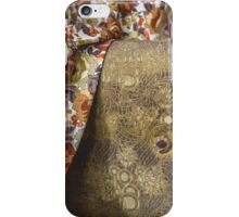 Old couch and drapes in abandoned home iPhone Case/Skin
