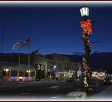 """Beautiful, Downtown, Sparta, MI"" by Deb  Badt-Covell"